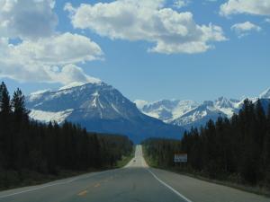 Lá vamos nós pelas montanhas rochosas...