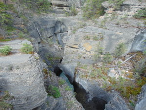 Mistaya Canyon