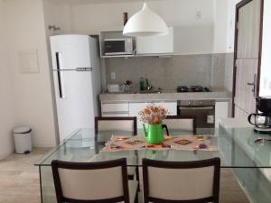 Cozinha montada e equipada