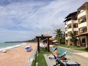 Hotel e praia